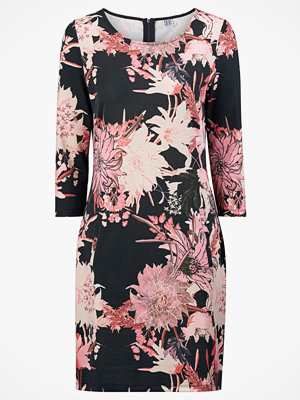 Saint Tropez Klänning Big Flower Jersey Dress