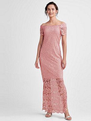 Vila Maxiklänning viZally Off Shoulder Maxi Dress