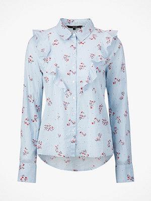 Vero Moda Blus vmCille LS Ruffle Shirt
