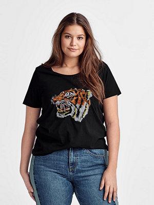 Zizzi Topp Wwild S/S T-shirt