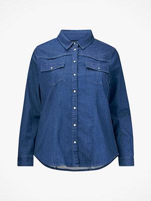 Zizzi Jeansskjorta MTexas LS Shirt