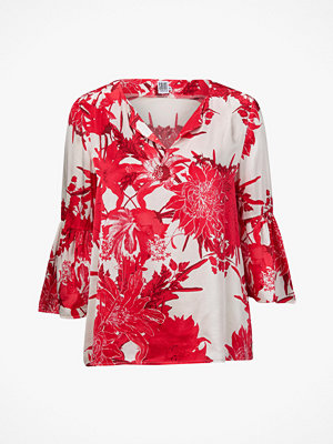 Saint Tropez Blus Big Flower Blouse