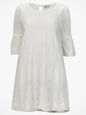 Only Carmakoma Klänning carBella New Lace 3/4 Dress