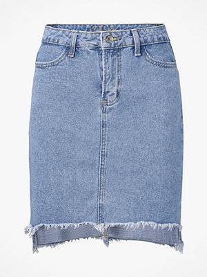 Vila Jeanskjol viJules HW Slit Skirt