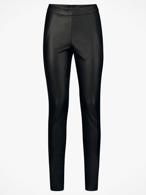 Leggings & tights - Vero Moda Leggings vmSevena NW Legg PU Stretch