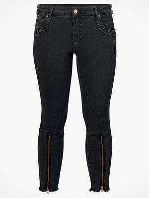 Zizzi Jeans Cropped Sanna Ex Slim