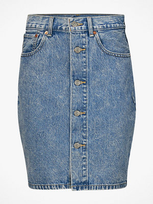 Levi's Jeanskjol Button Thru Mom Skirt Heart Of