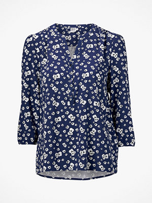 Blusar - Saint Tropez Blus Pansies Flower Blouse