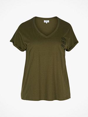 Zizzi Topp Vmasala S/S T-shirt