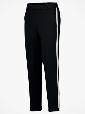 Vero Moda Byxor vmMaya MR Loose Panel Pant svarta