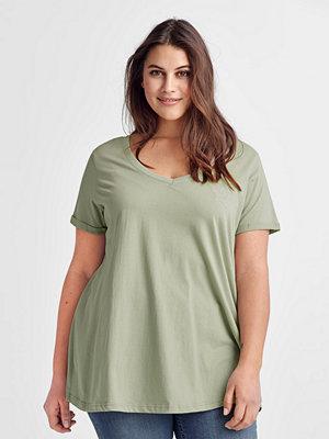 Zizzi Topp Vatika S/S T-shirt