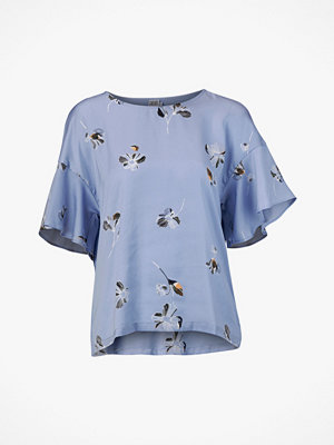 Blusar - Saint Tropez Blus Large Flower Blouse