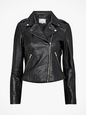 Vila Skinnjacka viBecky Leather Jacket T/B