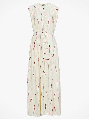 Whyred Maxiklänning Alma Pleat Tulip Print