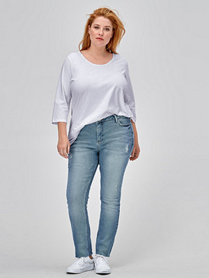 Zizzi Jeans Cropped Molly Slim