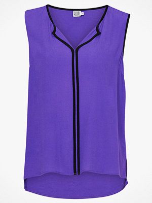 Saint Tropez Blus Contrast Pipings Top