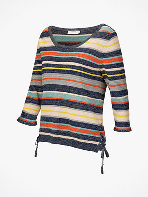 Cream Jumper Fiona Stripe Pullover
