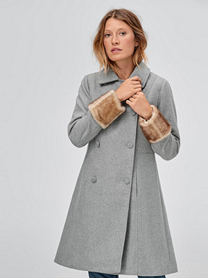 Ellos Kappa Malva Fur Sleeve