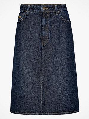 Kjolar - Lee Jeanskjol Long A Line Skirt