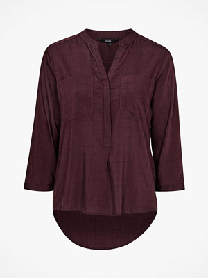 Vero Moda Skjorta vmErika Checker 3/4 Shirt