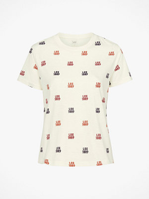 Lee Topp Allover Logo Tee
