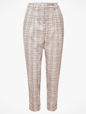Esprit rutiga byxor Chinos Pleats