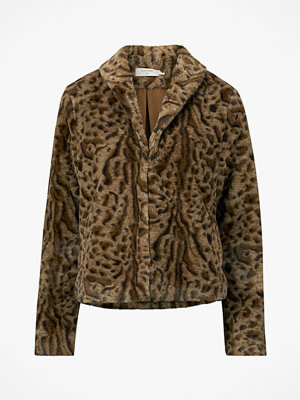 Cream Jacka Char Fur Jacket