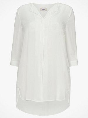 Only Carmakoma Blus carLavender 3/4 Shirt