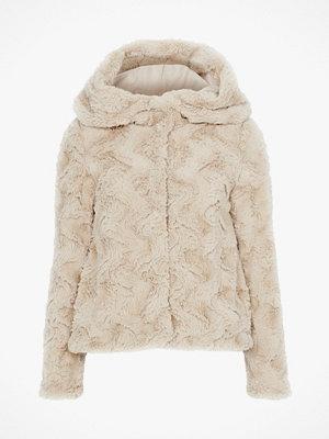 Vero Moda Fuskpäls vmCurl Hoody Faux Fur Jacket