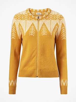 Jumperfabriken Cardigan Leaf Sweater