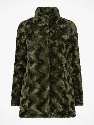 Vero Moda Fuskpäls vmCurl High Neck Faux Fur Jacket
