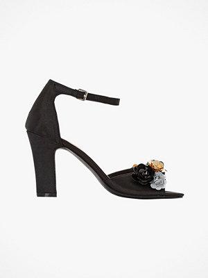Sandaler & sandaletter - La Redoute Sandaletter med hög klack och blomdekor