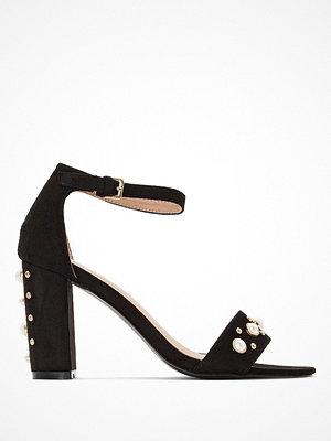 Sandaler & sandaletter - La Redoute Sandaletter med hög klack och pärldekor