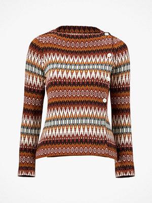 Jumperfabriken Cardigan Siv Cotton Sweater