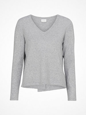 Vila Tröja viDicte Knit L/S Wrap Top