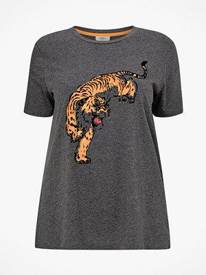 Only Carmakoma Topp carOrange SS T-shirt