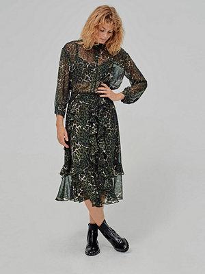 Munthe Volangkjol Vancouver Skirt, leopardmönstrad