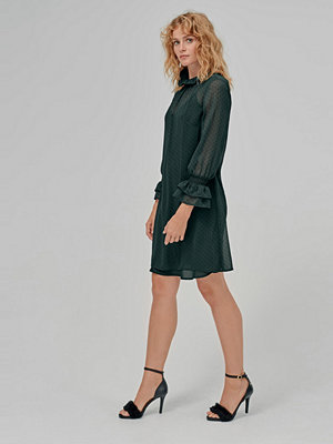 Esprit Klänning Flocked Dot Cri Dress
