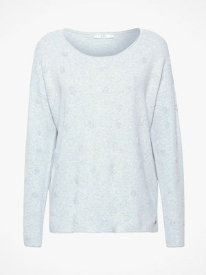 Esprit Sweatshirt Dots Jacquard