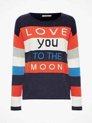 Esprit Tröja Jaquard Stripe Sweater