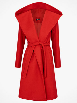 Only Kappa onlRiley Wool Hooded Wrap Coat