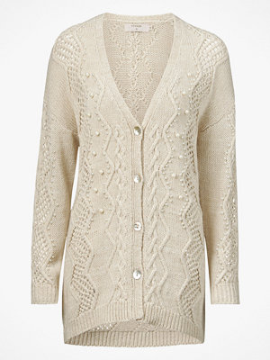 Cream Cardigan Jess Knit