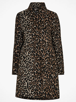 Soaked in Luxury Kappa Francis Wool Coat, leopardmönstrad