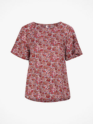 Lexington Blus Ellis Red Flower Top