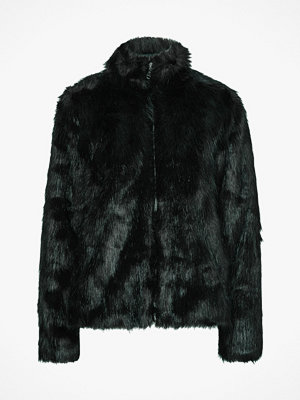 Saint Tropez Fuskpäls Long Hair Faux Fur Jacket