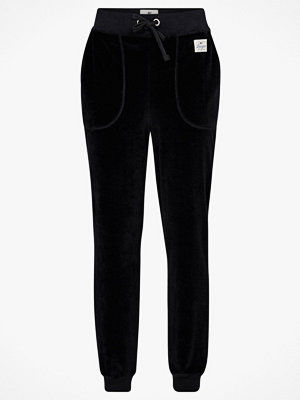 Lexington Velourbyxor Minnie Velour Track Pants svarta
