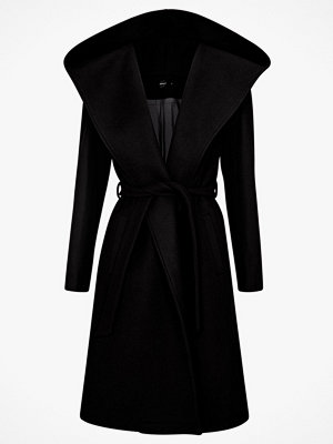 Only Kappa onlRiley Wool Hooded Wrap Coat
