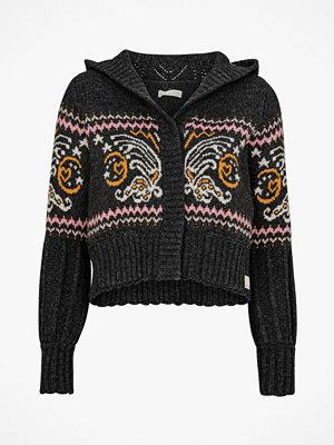 Odd Molly Cardigan Arctic Wings Hood Sweater