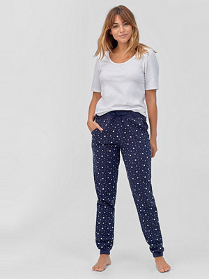 Pyjamas & myskläder - Ellos Pyjamasbyxor Flanell Amy