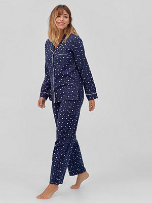 Pyjamas & myskläder - Ellos Flanellpyjamas Antonia